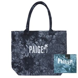 NWT PAIGE 🌴 Teal Tie Dye Palm Tree Tote Bag